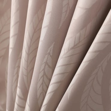 HOLA 葉脈提花阻音遮光窗簾 270x165cm