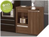 【YUDA 】北歐風格維爾達浮雕木紋2 6 尺拉盤收納櫃餐櫃置物櫃J9M 914 3