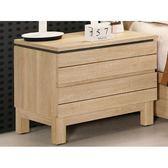床頭櫃 MK-648-3 米拉斯1.7尺床頭櫃【大眾家居舘】