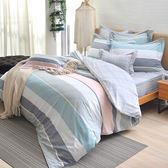 義大利La Belle 加大水洗棉防蹣抗菌吸濕排汗兩用被床包組-炫彩生活
