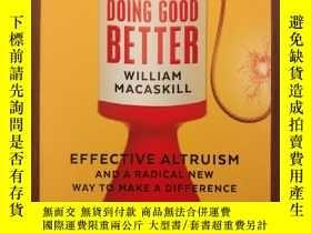 二手書博民逛書店Doing罕見Good Better: How Effectiv