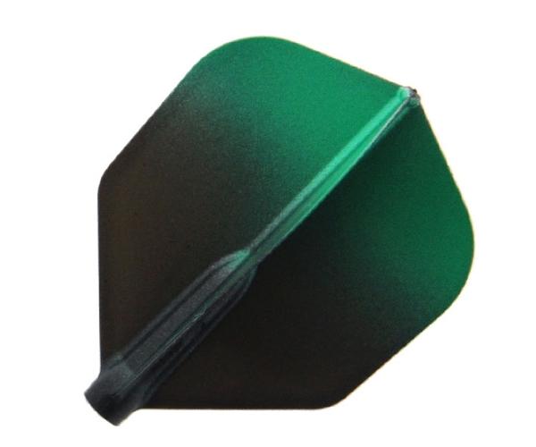 【Fit Flight AIR x Esprit】Black Gradation Shape Green 鏢翼 DARTS