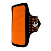 Nike DT Arm Band [NRN42064OS] 男 運動 慢跑 自行車 輕量 手機 臂包 4.7吋 黑 橘