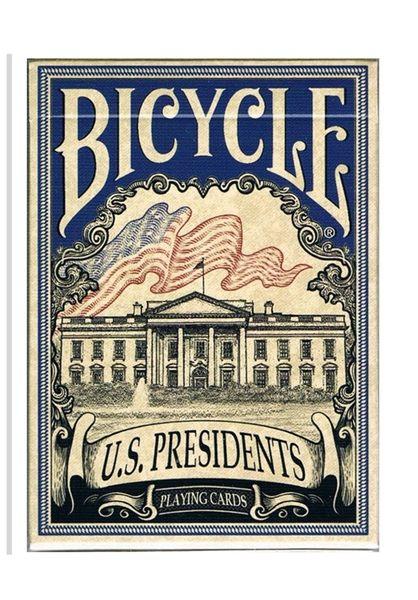 【USPCC 撲克】Bicycle us presidents blue 平盒