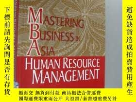 二手書博民逛書店(Mastering罕見business in Asia) HU