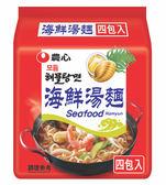 韓國 農心 海鮮湯麵 125x4入 【美日多多】