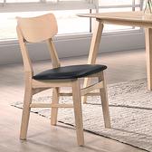 餐椅 愛菲爾全橡膠木實木餐椅B6-670.1