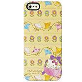 iPhone5S 日本三麗鷗原廠 Charmmy Kitty 繽紛洋傘 手機硬殼 Enya恩雅 (第二件1元)