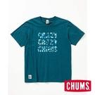 CHUMS Crazy CHUMS 短袖T恤 深藍 CH111512N001【GO WILD】