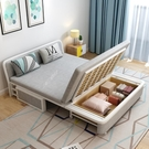 沙髮床 實木可折疊沙髮床1.2/1.5米多功能客廳小戶型 雙人兩用省空間沙髮 mks韓菲兒