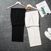 【618好康鉅惠】闊腿褲2018新款春季高腰韓版垂感西裝褲