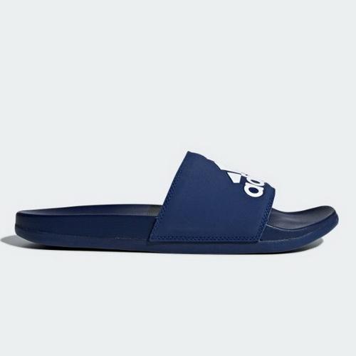 ADIDAS ADILETTE COMFOR 拖鞋 正品 B44870 男款 深藍【iSport愛運動】