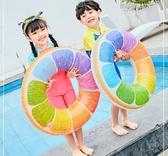 游泳圈成人水上坐騎兒童3-6-10歲浮圈男孩女孩泳圈初學者游泳裝備 凱斯盾
