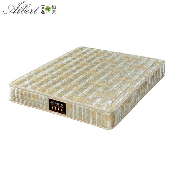 【采桔家居】艾柏 抗菌透氣5尺雙人連結式彈簧床墊(5x6.2尺)