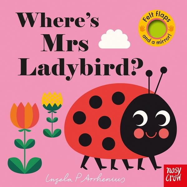 Where's Mrs Ladybird? 瓢蟲在哪裡? 不織布翻翻書