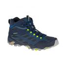 [Merrell] 男 MOAB FST MID GORE-TEX® 中筒防水健行鞋 藍 (ML36889) 秀山莊戶外用品旗艦店