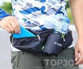 戶外多功能健身馬拉松跑步腰包運動水壺包6寸手機包男女騎行夜跑「Top3c」