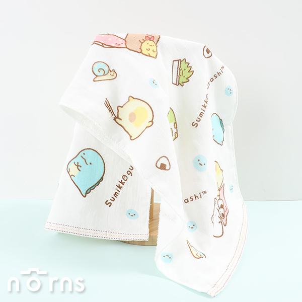 【角落生物紗布毛巾M號】Norns 紗布巾 純棉吸水毛巾