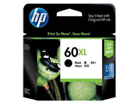[奇奇文具]【HP 墨水匣】HP CC641WA/NO.60XL 高容量原廠黑色墨水匣