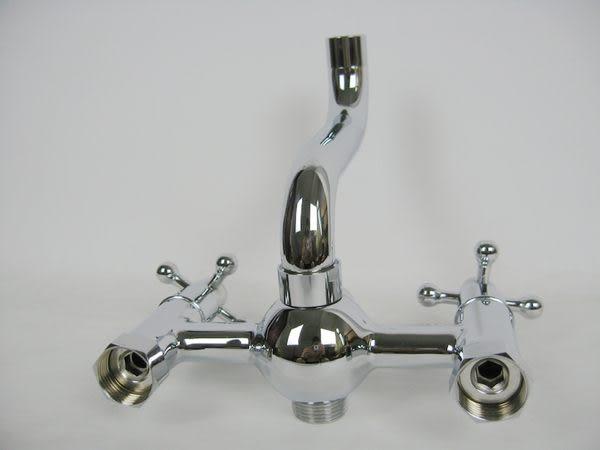 雙把 冷熱淋浴龍頭 全銅 三通系列  HJE-3457