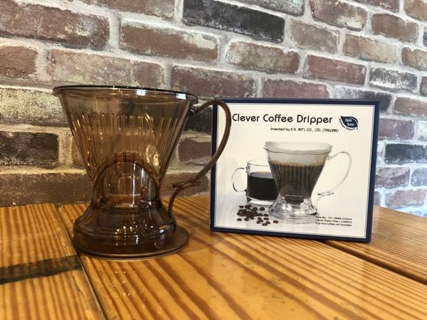 金時代書香咖啡 Clever Dripper 聰明濾杯 透明棕-500ml C-70888