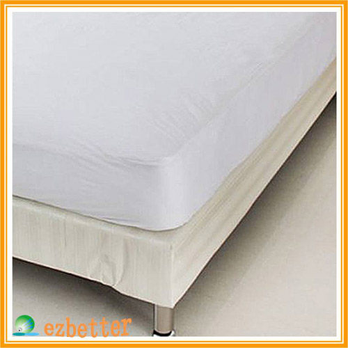 【奇買親子購物網】伊莉貝特防蹣(螨)寢具純棉-雙人特大床墊套 183*214*30cm ( 6x7尺 )