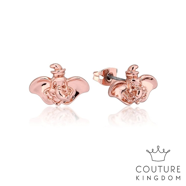 Couture Kingdom 迪士尼小飛象鍍14K玫瑰金耳釘 Dumbo Earrings