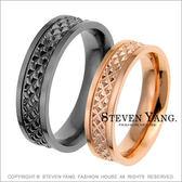 情人對戒STEVEN YANG西德鋼飾 鋼戒指「無盡思念」單個價格