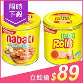 Richeese麗芝士/Richoco麗巧克  Nabati/Rolls 起司/巧克力威化餅(1桶入) 款式可選【小三美日】99