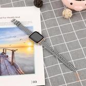 適用apple watch5/3/2/1蘋果手錶帶iwatch帆布休閒尼龍