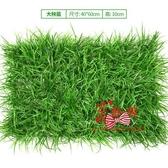 假草牆 仿真植物牆綠植牆面草皮室內牆壁裝飾綠色草坪塑料假花形象背景牆 2色