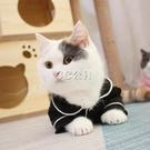 狗狗衣服秋裝薄款貓貓防掉毛貓衣服寵物小奶貓可愛貓咪睡衣 雙十一全館免運