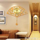 掛鐘創意家居掛件中式餐廳飯店牆面裝飾3d立體客廳走廊過道壁掛裝飾品 igo全館免運