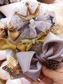 兒童發飾 可愛嬰兒皇冠頭飾小女孩發卡發飾女寶寶兒童發夾頭飾品公主蝴蝶結 珍妮寶貝