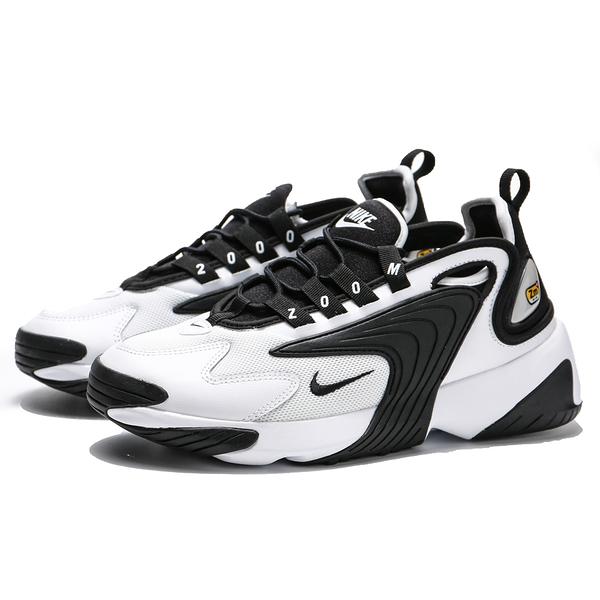 NIKE ZOOM 2K 黑白 基本 休閒鞋 男 (布魯克林) AO0269-101
