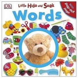 【寶寶尋寶書】LITTLE HIDE AND SEEK WORDS /硬頁書  (物件認知.觀察力)