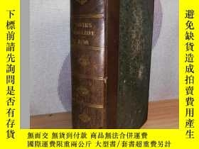 二手書博民逛書店1850年罕見YOUTH S MAGAZINE 含精美插圖 半皮