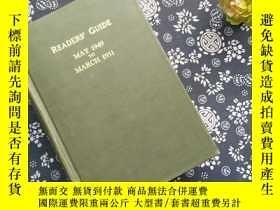 二手書博民逛書店readers guide罕見to periodical lit