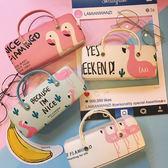 韓版創意時尚小清新卡通創意手提眼鏡盒軟妹學生便攜近視鏡護理盒 生日禮物 創意