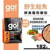 【SofyDOG】go! 鮮食利樂貓餐包 豐醬系列 野生鮭魚182g
