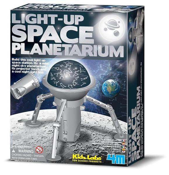 創意太空塔 Light-Up Space Planetarium 在房間找到你的星座吧