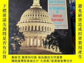 二手書博民逛書店AN罕見INTRODUCTION TO AMERICAN GOV