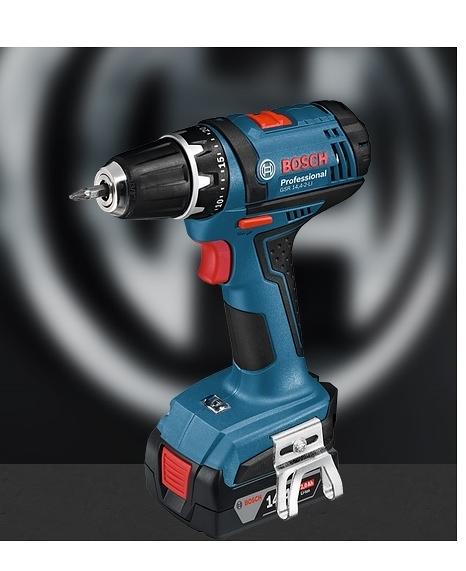 [家事達] 德國 BOSCH -博世 GSR 14,4-2-LI 充電式電鑽/起子機  特價 含工具箱