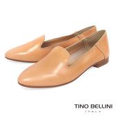 Tino Bellini 義大利進口經典臘感樂福鞋_ 膚 A83011 歐洲進口款