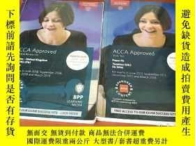 二手書博民逛書店ACCA罕見Approved 2016 . 2017兩本合售Y328640 出版2017