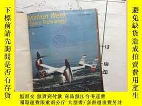 二手書博民逛書店Aviation罕見week space techology 航