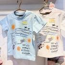 兒童塗鴉風棉T恤 短袖上衣*2色[13593] RQ POLO 春夏 童裝 小童 5-17碼 現貨