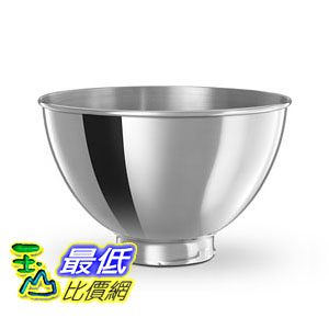 [104美國直購] KitchenAid KB3SS 3-Quart Stainless Steel Bowl 攪拌機 配件 不鏽鋼碗