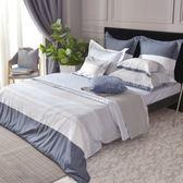 義大利La Belle《時尚格調》特大四件式防蹣抗菌吸濕排汗兩用被床包組