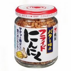 日本 桃屋千切大蒜調味醬125g-HE